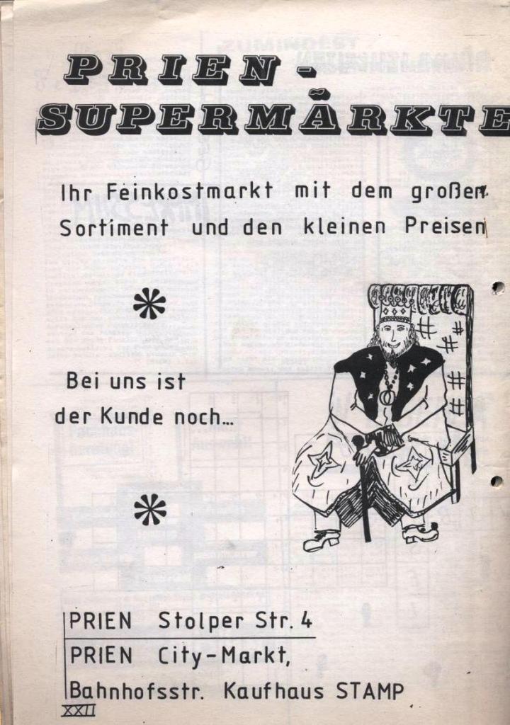 Dialog _ Zeitung für das Gymnasium Rahlstedt, Nr. 1/1978, Seite 22