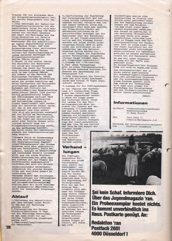 Dialog _ Zeitung für das Gymnasium Rahlstedt, Nr. 2/1978, Seite 8