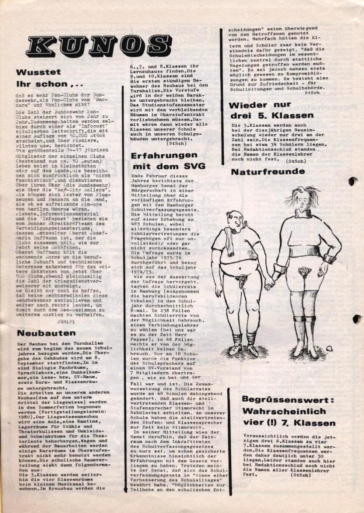 Dialog _ Zeitung für das Gymnasium Rahlstedt, Nr. 2/1978, Seite 12