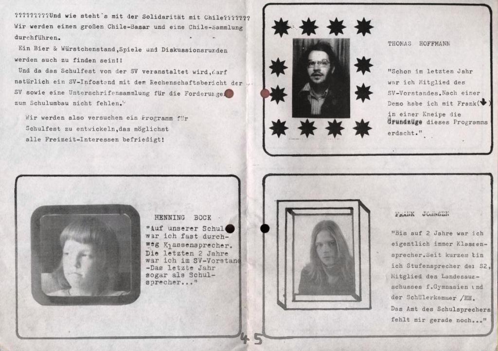 Die Wahlurne _ Zeitung zu der Schulsprecherwahl 1975, S. 4 und 5