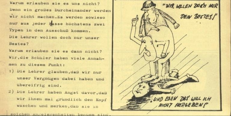 Durchbruch _ Rahlstedter Schülerpresse, 2. Jg., 1974, Nr. 3, Seite 3a