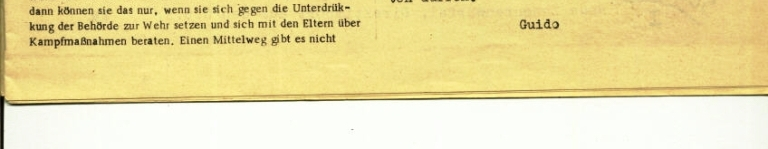 Durchbruch _ Rahlstedter Schülerpresse, 2. Jg., 1974, Nr. 4, Seite 3a