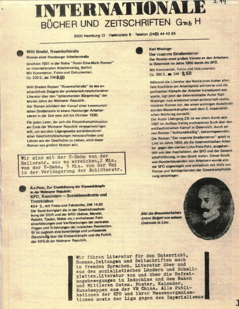 Durchbruch _ Rahlstedter Schülerpresse, 2. Jg., 1974, Nr. 4, Seite 14