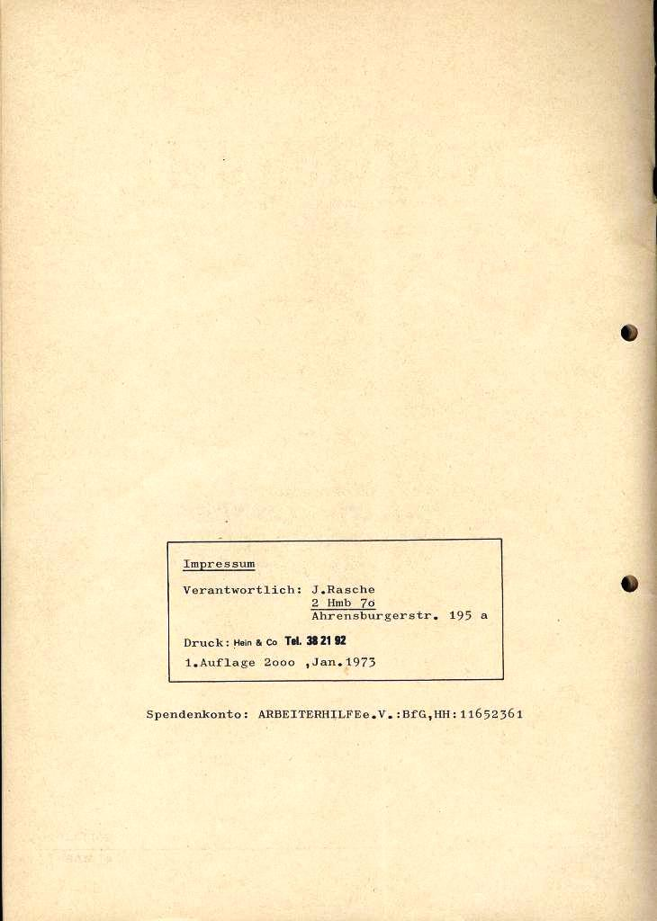 IKAH_Ratgeber, 1973, Rückseite