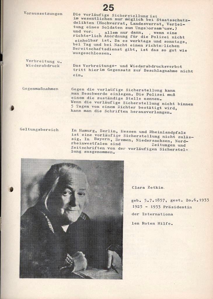 IKAH_Ratgeber, 1973, Seite 25