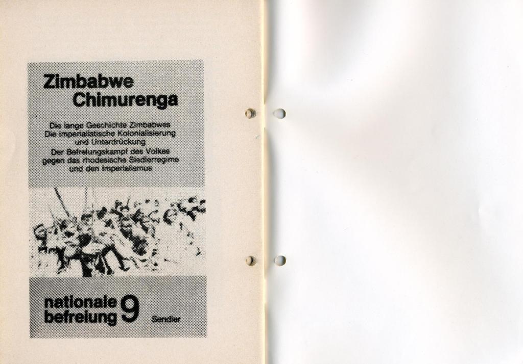 Broschüre der SSG Hamburg: Von Melle – Imperialistenidol in Sachen Kolonialpolitik und Unterdrückung, Seite 36f.