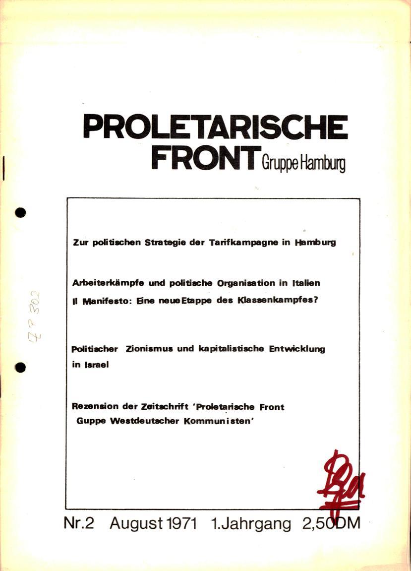 Proletarische_Front_1971_02_01