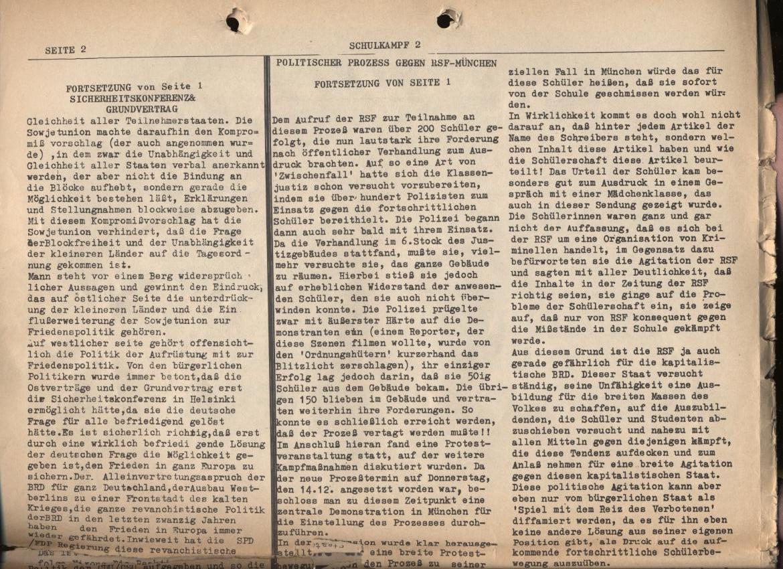 Schulkampf, Nr. 2, Hamburg, 13.11.1972, Seite 2
