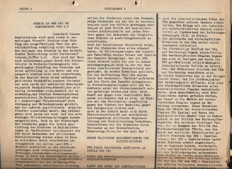 Schulkampf, Nr. 2, Hamburg, 13.11.1972, Seite 4