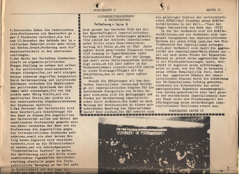 Schulkampf, Nr. 2, Hamburg, 13.11.1972, Seite 11