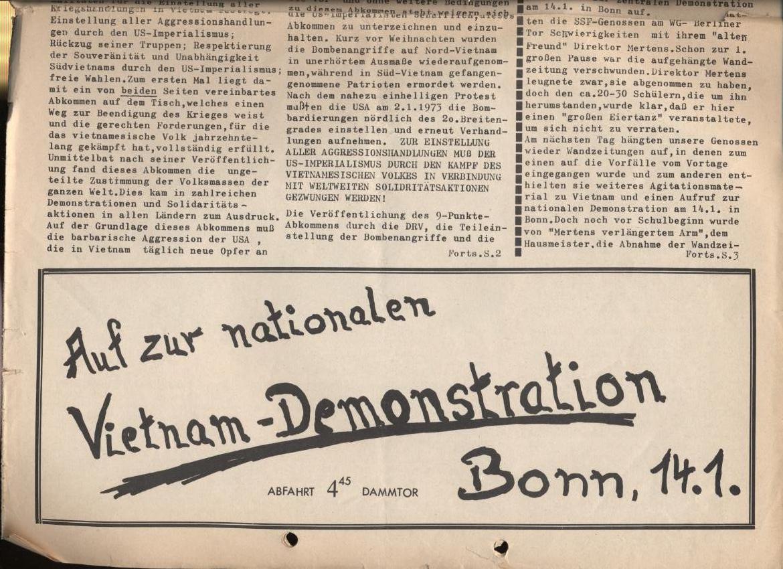 Schulkampf, Nr. 1, Hamburg, 12.1.1973, Seite 1