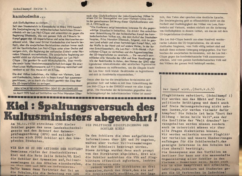 Schulkampf, Nr. 1, Hamburg, 12.1.1973, Seite 4