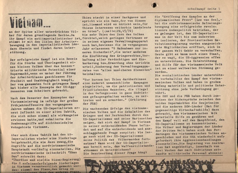 Schulkampf, Nr. 1, Hamburg, 12.1.1973, Seite 5