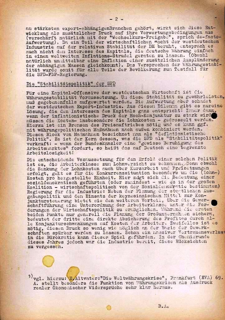 Spartacus _ Gewerkschaftskommission Rhein_Main: Bulletin Chemietarifrunde 1971, Seite 4b