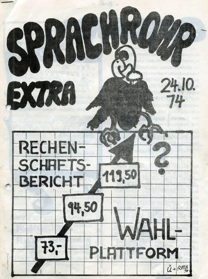 Sprachrohr_Extra_1974_01