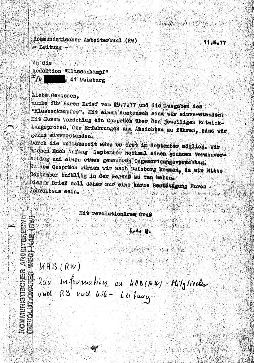 Briefwechsel_KABRW_KK_Duisburg_19770811_01