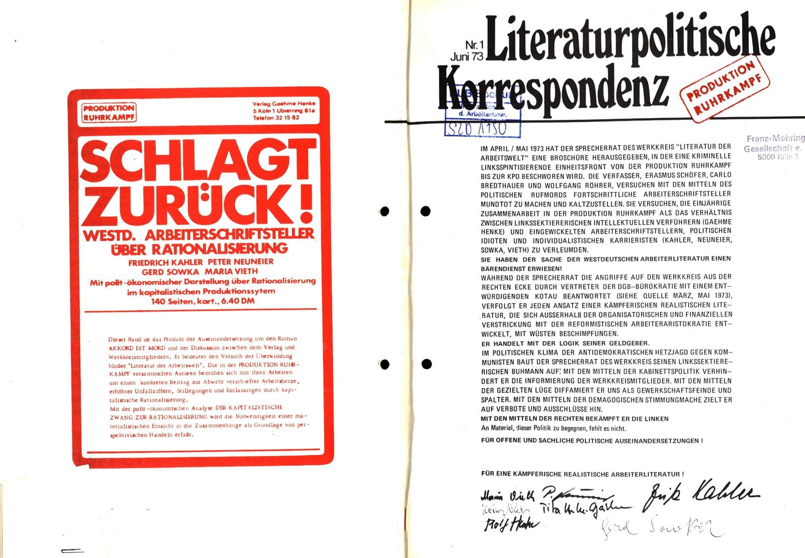 Ruhrkampf_Literaturpolitische_Korrespondenz_19730600_01