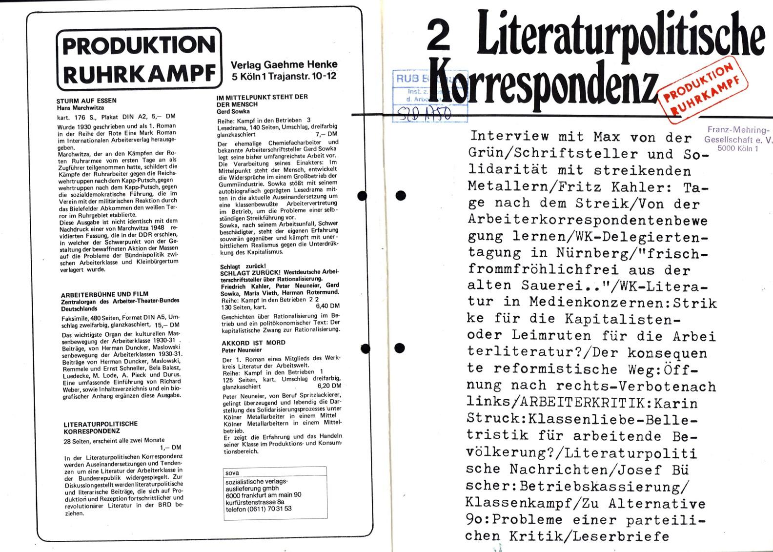 Ruhrkampf_Literaturpolitische_Korrespondenz_19731000_01