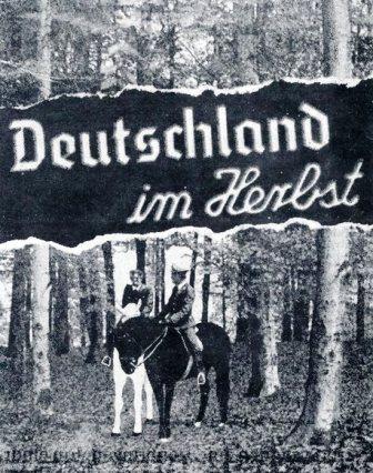 Plakat zum Film Deutschland im Herbst