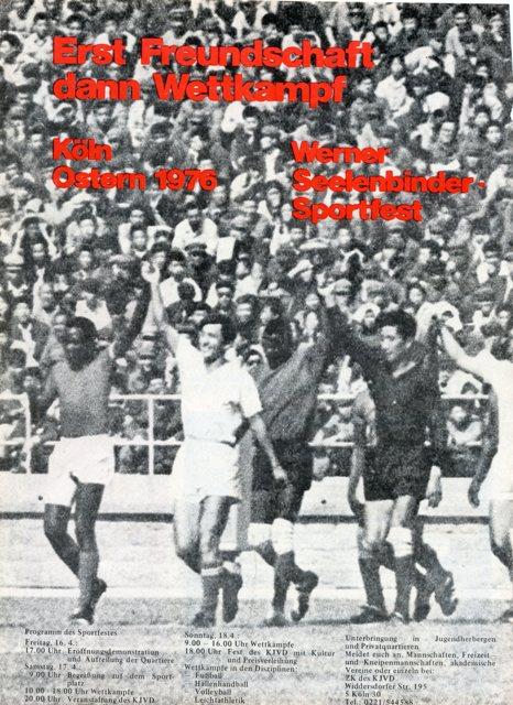 1. Werner-Seelenbinder-Sportfest 1976 in Köln