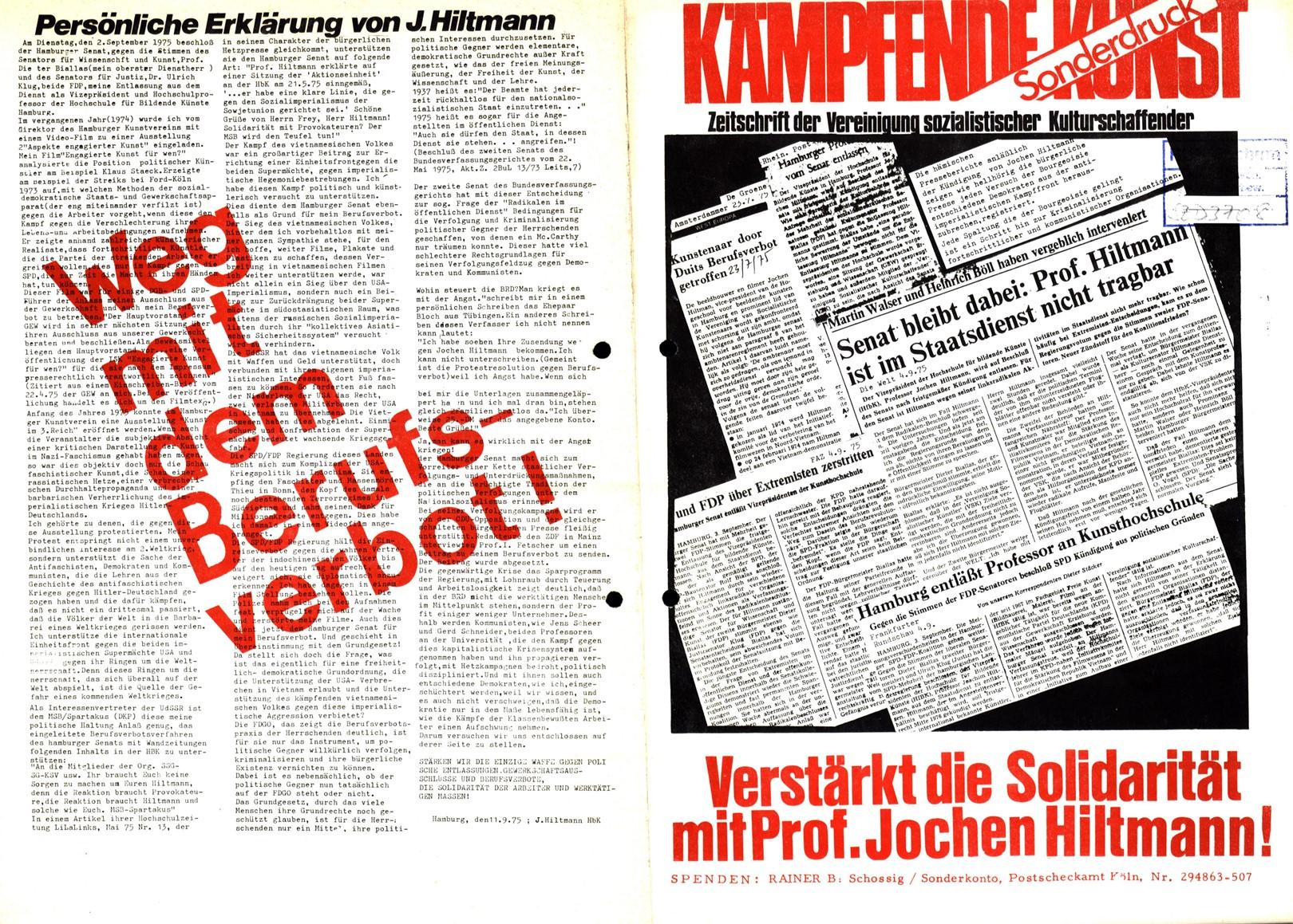 VSK_Kaempfende_Kunst_19750900_Sonderdruck_01