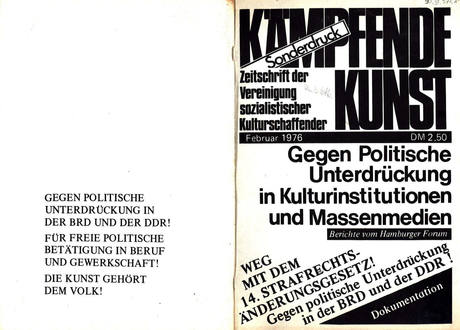 VSK_Kaempfende_Kunst_19760200_Sonderdruck_01