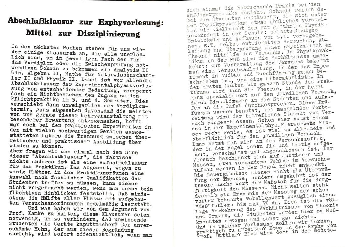 Bochum_KSV_VDS_1972_Experimentalphysikklausur_02