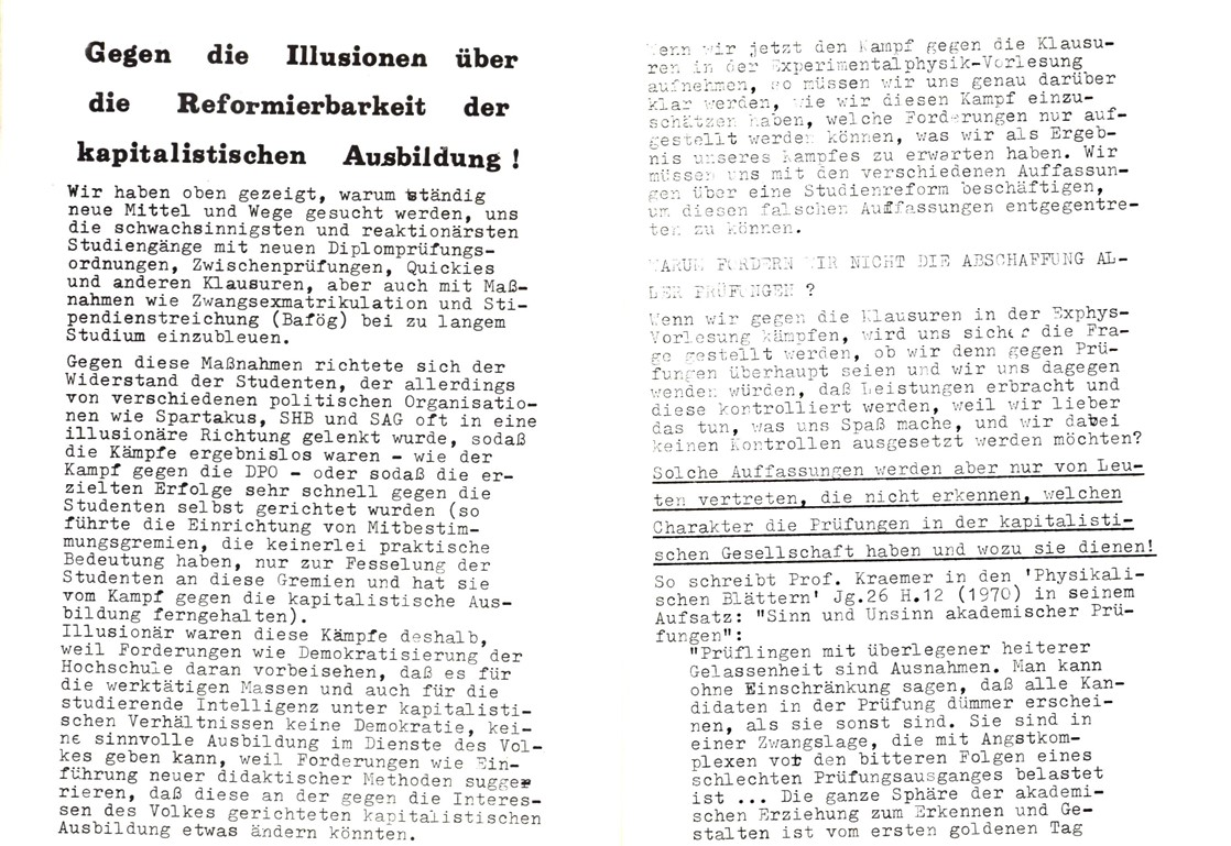 Bochum_KSV_VDS_1972_Experimentalphysikklausur_07