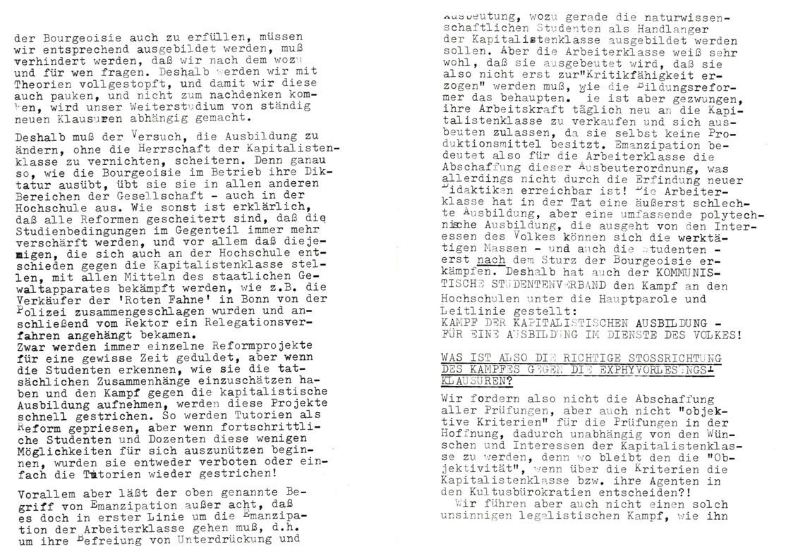 Bochum_KSV_VDS_1972_Experimentalphysikklausur_10