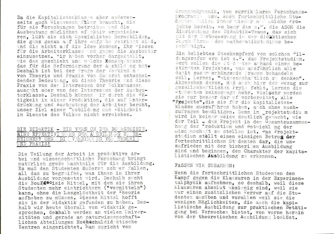 Bochum_KSV_VDS_1972_Experimentalphysikklausur_13