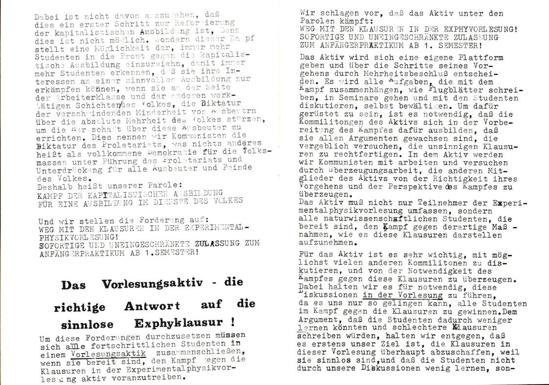 Bochum_KSV_VDS_1972_Experimentalphysikklausur_14