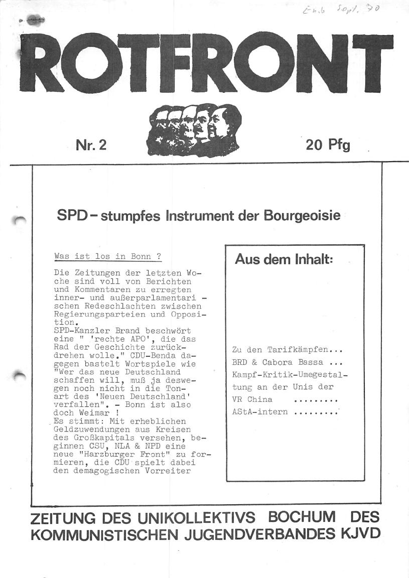 Bochum_KJVD_Unikoll_Rotfront_1970_02_01