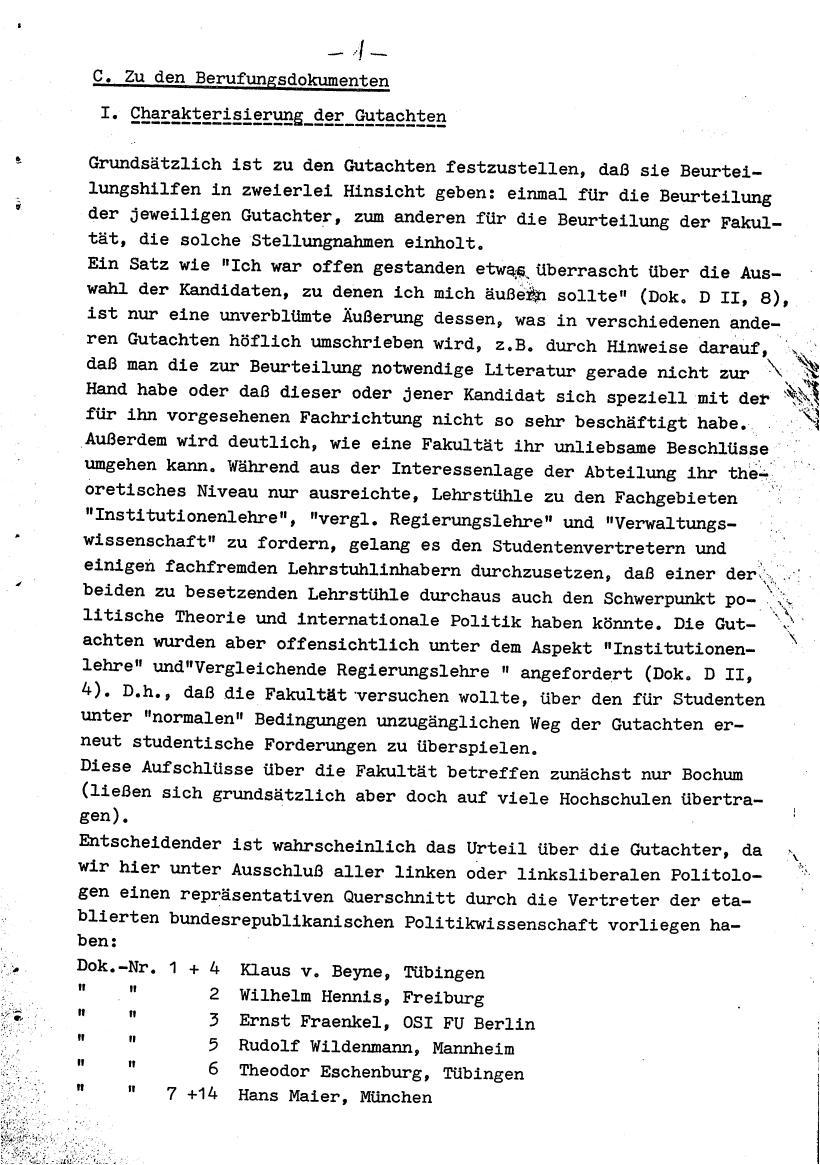 Bochum_VDS_1969_RUB_Berufungspolitik_011