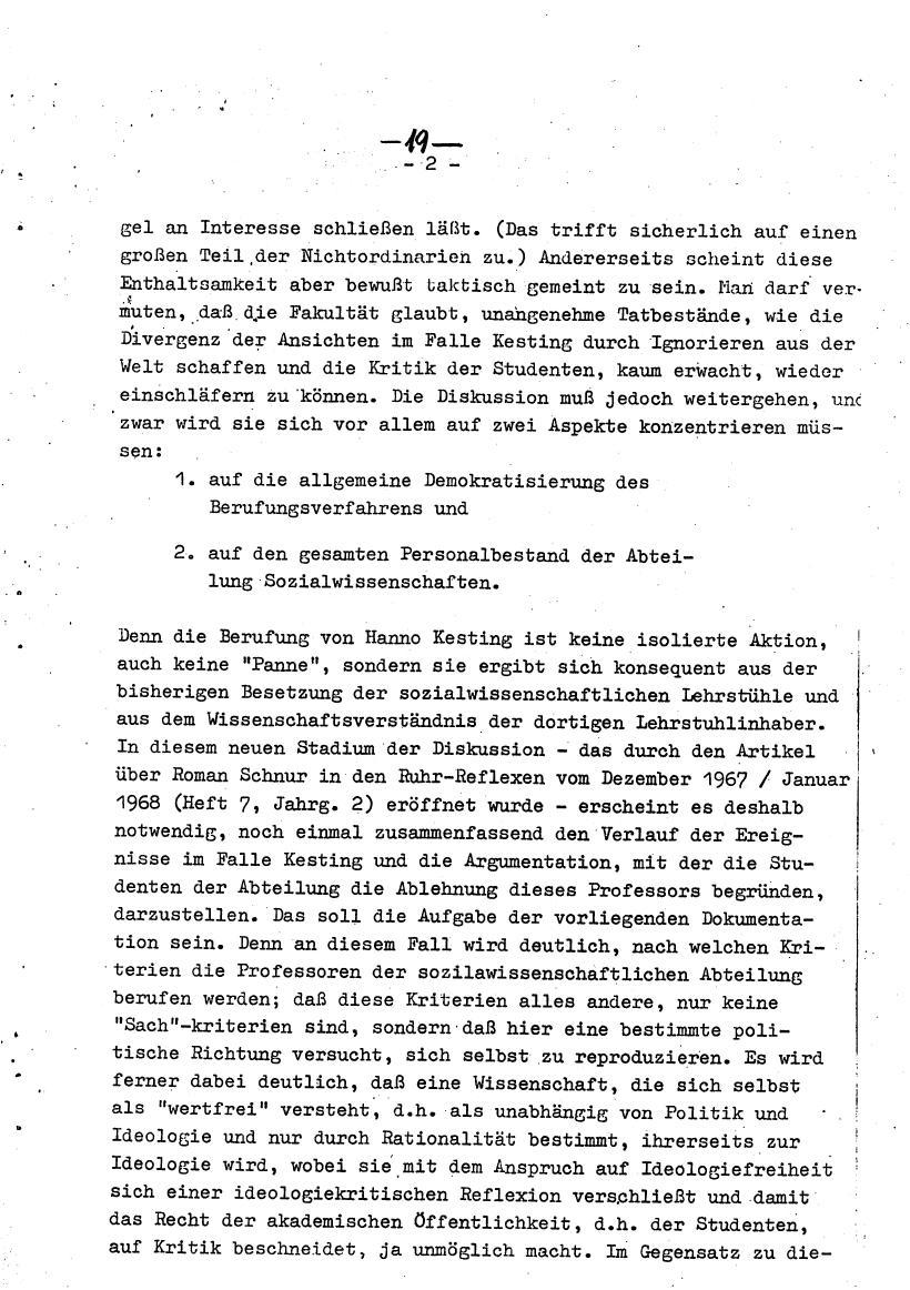 Bochum_VDS_1969_RUB_Berufungspolitik_029