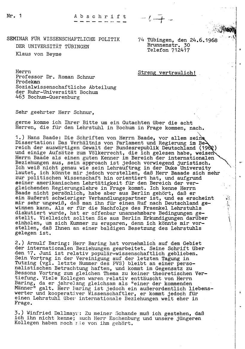 Bochum_VDS_1969_RUB_Berufungspolitik_077