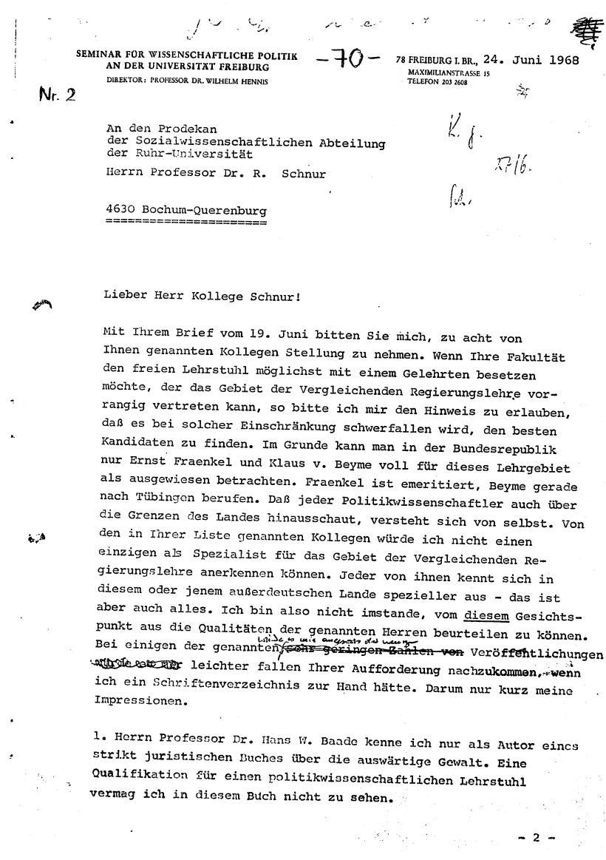 Bochum_VDS_1969_RUB_Berufungspolitik_085