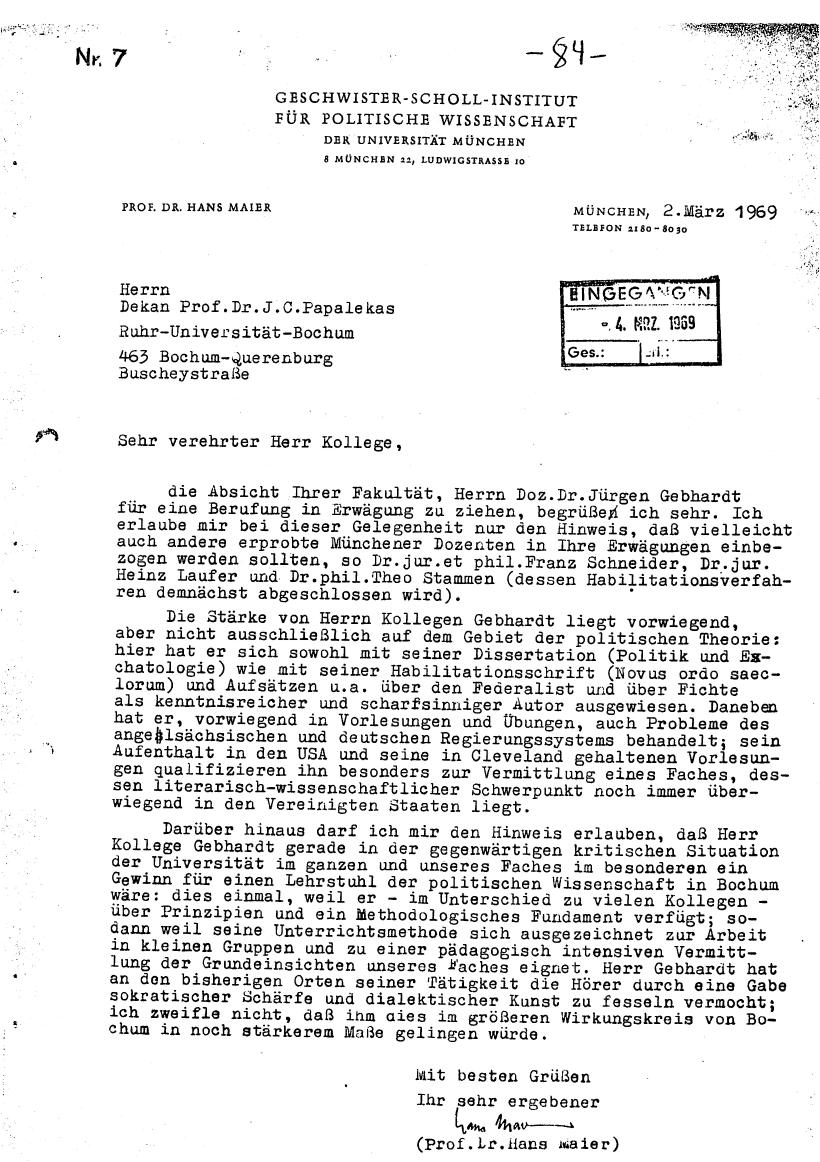 Bochum_VDS_1969_RUB_Berufungspolitik_094