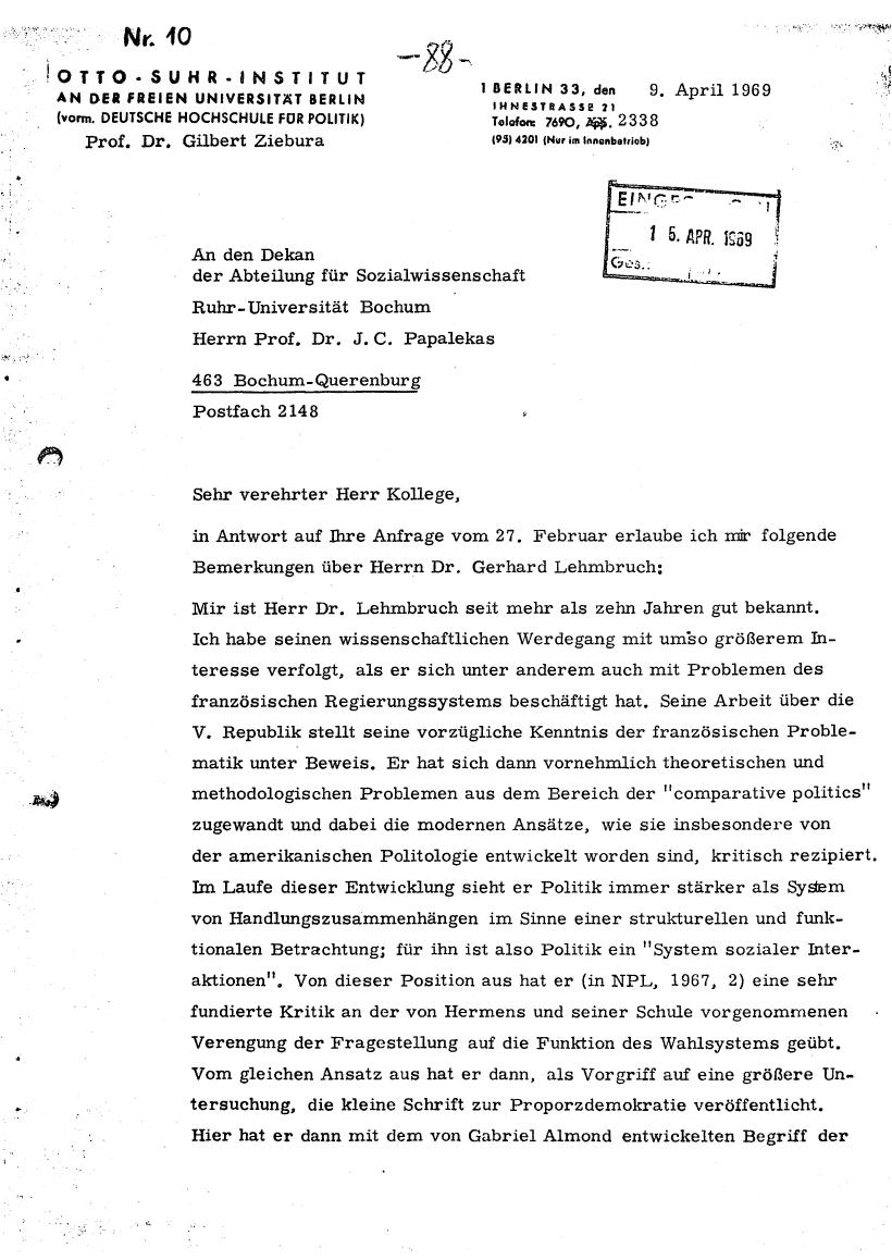 Bochum_VDS_1969_RUB_Berufungspolitik_098
