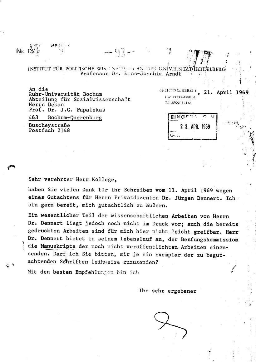 Bochum_VDS_1969_RUB_Berufungspolitik_103