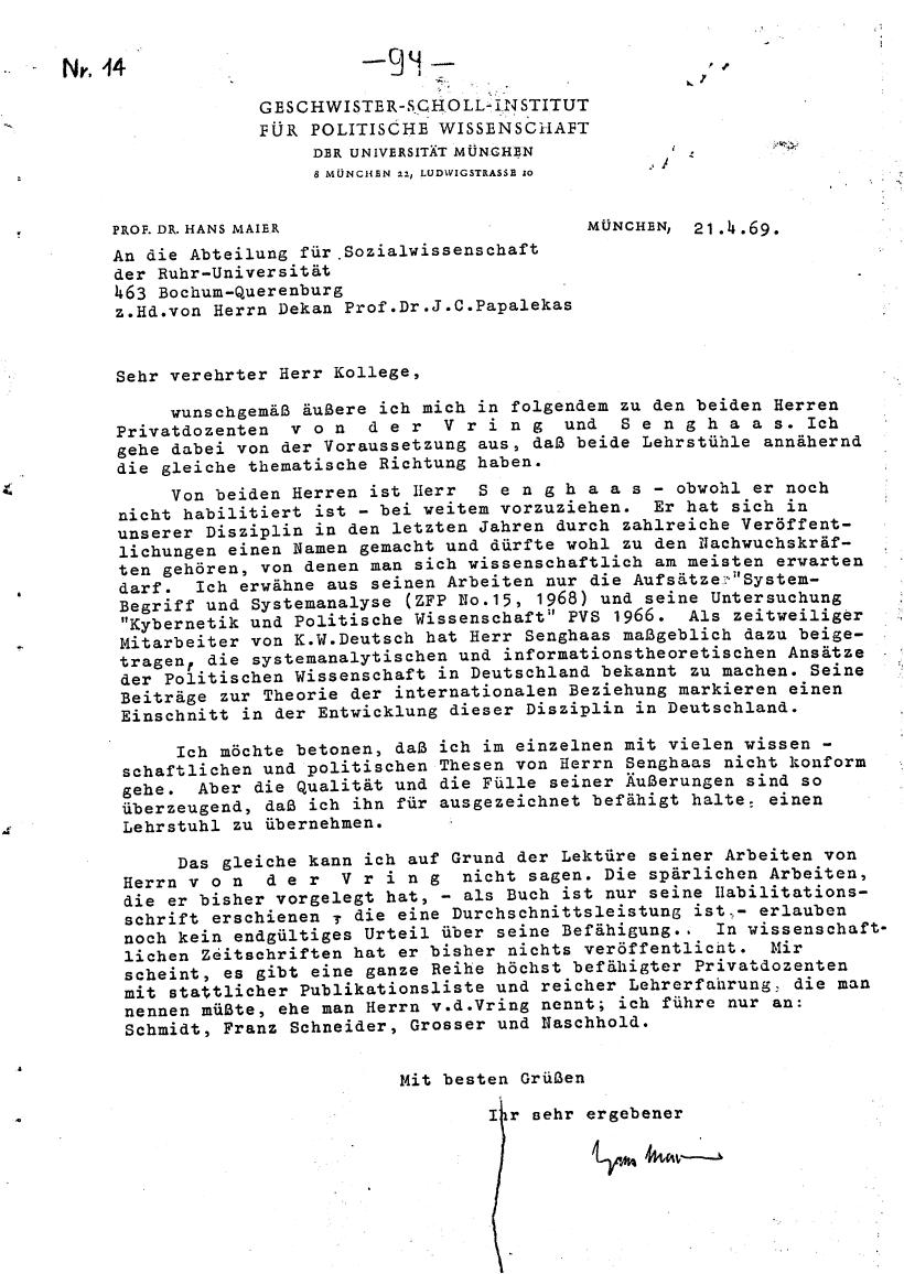 Bochum_VDS_1969_RUB_Berufungspolitik_104