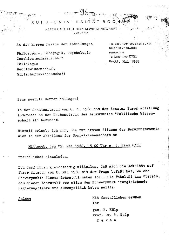 Bochum_VDS_1969_RUB_Berufungspolitik_106