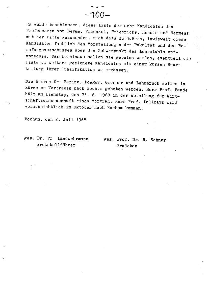 Bochum_VDS_1969_RUB_Berufungspolitik_110