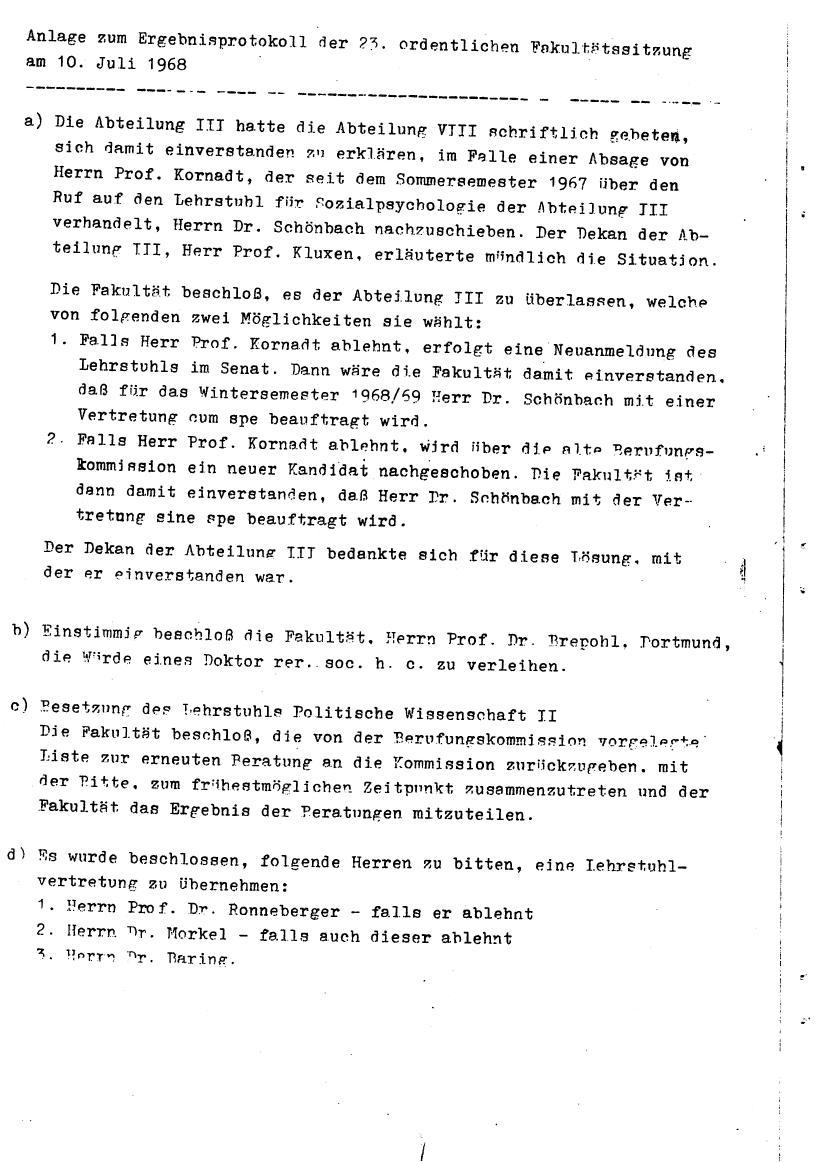 Bochum_VDS_1969_RUB_Berufungspolitik_113