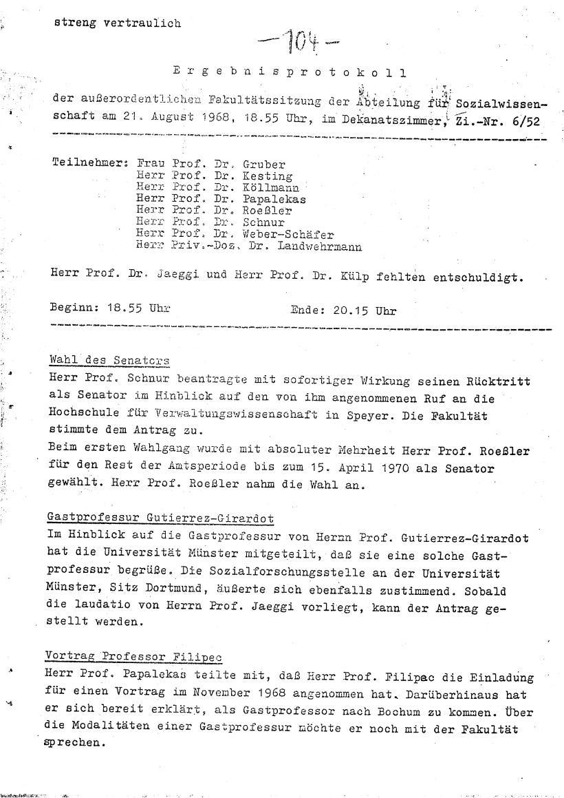 Bochum_VDS_1969_RUB_Berufungspolitik_114