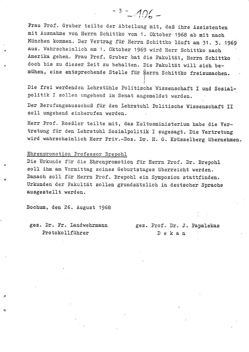 Bochum_VDS_1969_RUB_Berufungspolitik_116