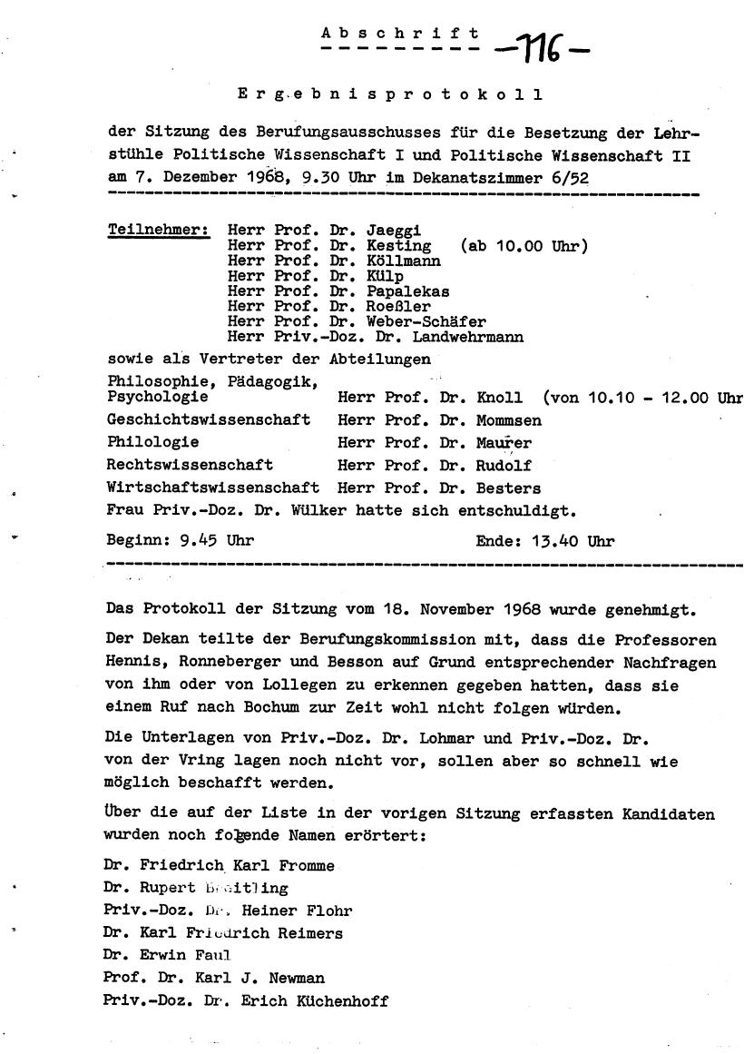 Bochum_VDS_1969_RUB_Berufungspolitik_125