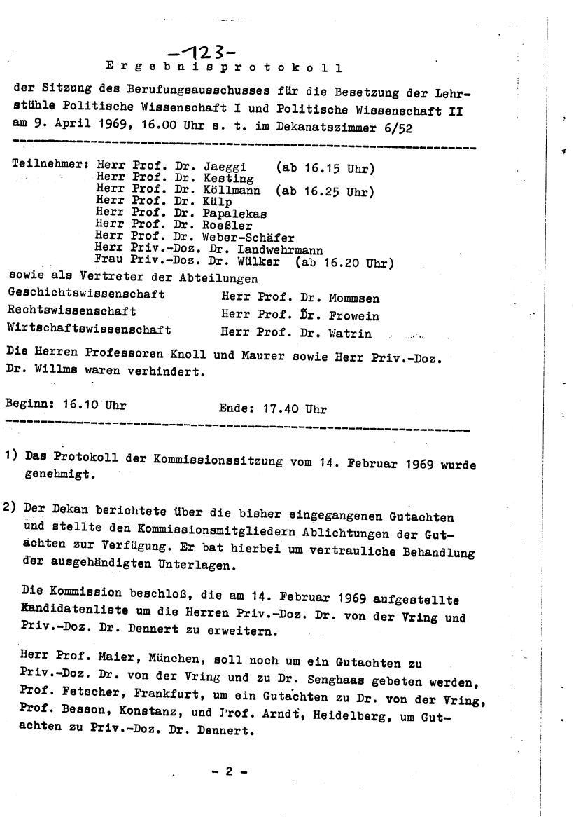 Bochum_VDS_1969_RUB_Berufungspolitik_132
