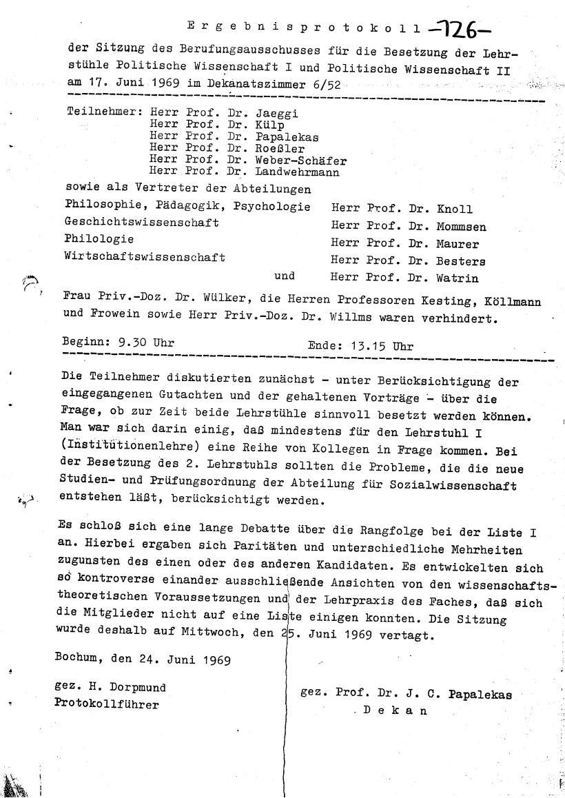 Bochum_VDS_1969_RUB_Berufungspolitik_135