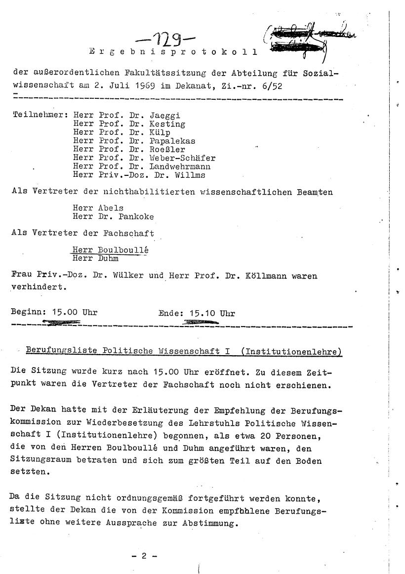 Bochum_VDS_1969_RUB_Berufungspolitik_138