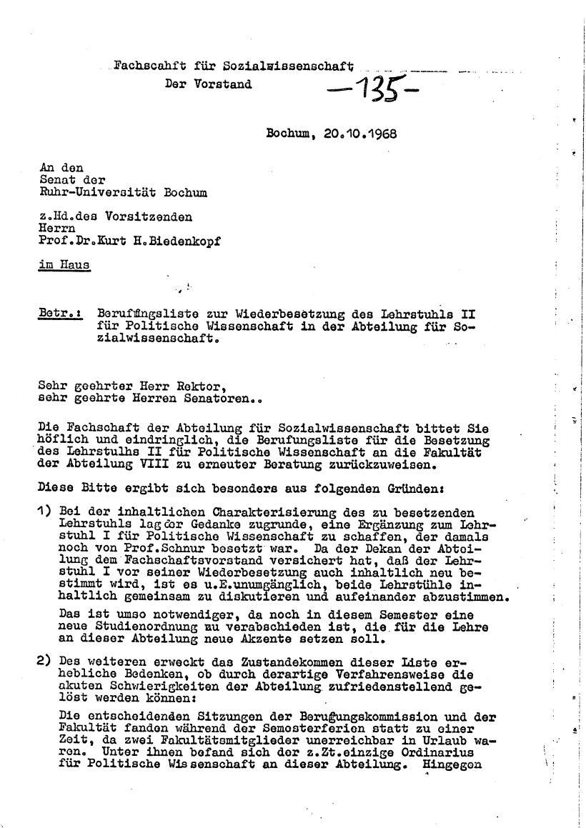 Bochum_VDS_1969_RUB_Berufungspolitik_144